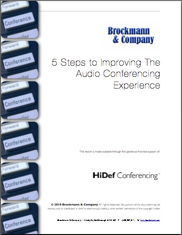 5 Steps to Improving The Audio Conferencing Experience
