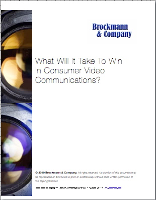 What Will it Take to Win in Consumer Video Communications?
